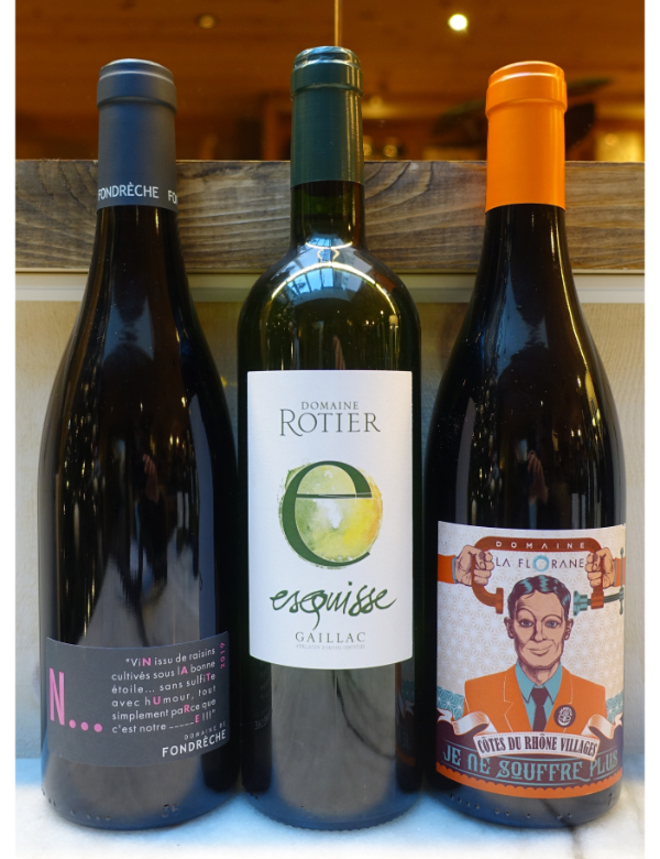 Natural Wines 3x75cl