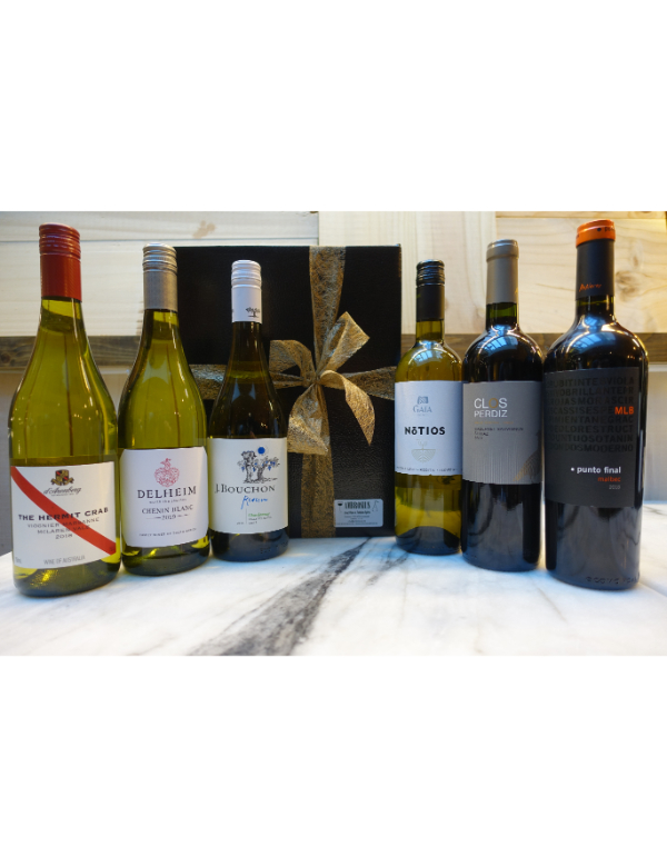 World Wines 6x75cl Gift Box