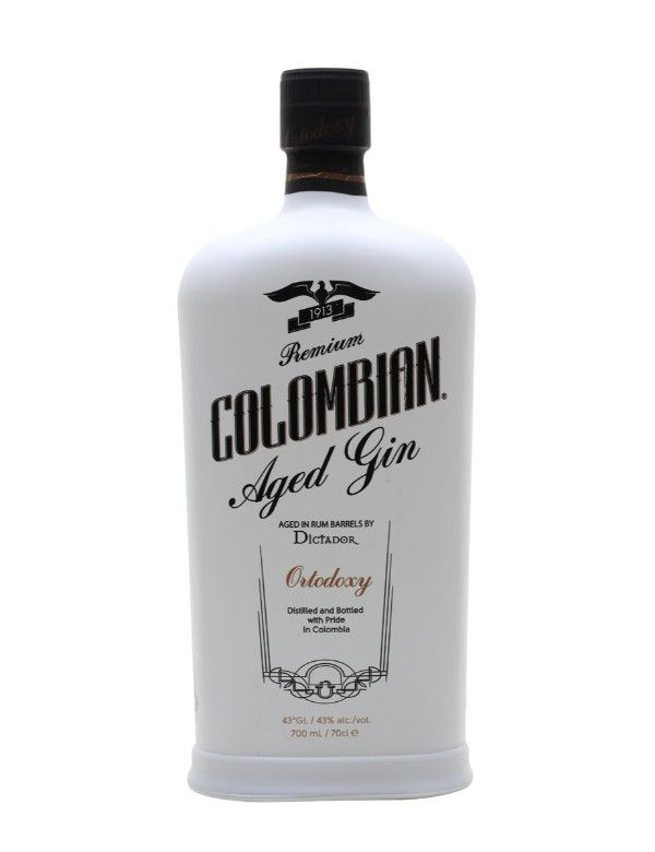 Colombian Aged Gin Ortodoxy 43% 70cl