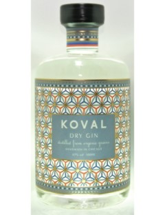 Koval Chicago dry Gin 47% 50cl