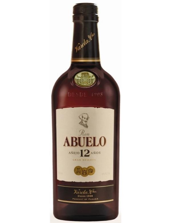 Abuelo 12Y Panama Gran Reserva 40% 70cl