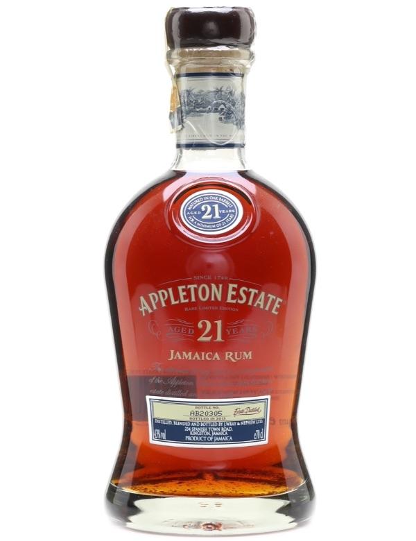 Appleton estate 21Y old rum Lim Release 43% 70cl