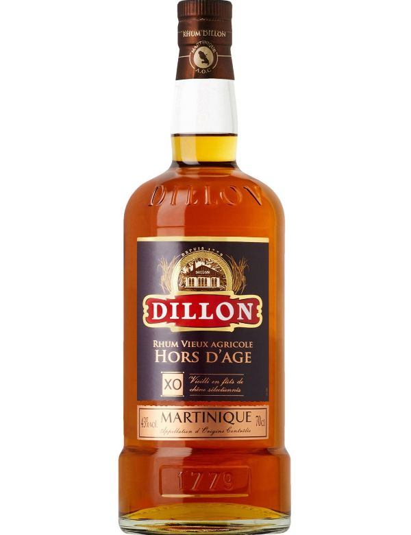 Dillon Rhum Vieux Agricole Hors d age XO 70cl 43%