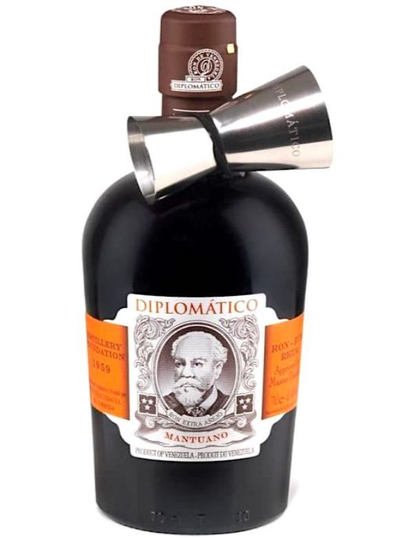 Diplomatico Mantuano with Jigger 70cl 40%