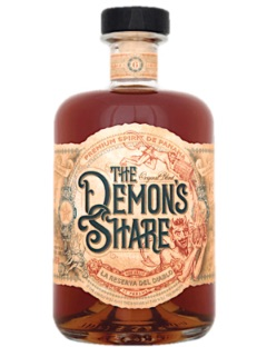The Demon s Share Spiced Rum Panama 40% 70cl