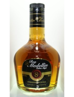 Ron Medellin Extra Anejo 8Years 70cl 37.5%
