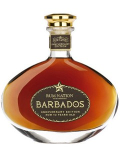 Rum Nation Barbados 12 years Decanter 70cl 40%