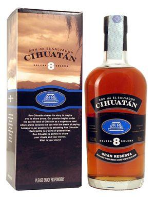 Cihuatan 8y Rum El Salvador 40% 70cl.
