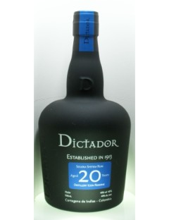 Dictador Rum 20Y 40% 70cl