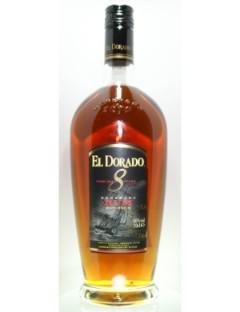 El dorado Rum 8 years 70cl  40%