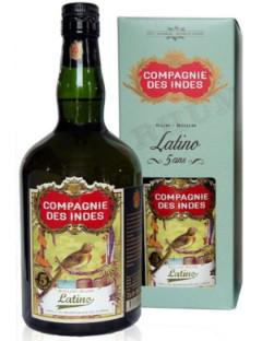 Compagnie des Indes Latino Rum 40% 70cl