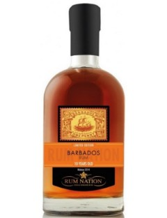 Rum  Nation Barbados 10 Years 40% 70cl