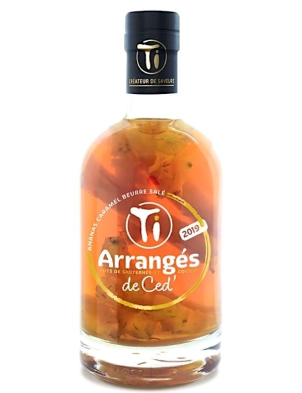 Ti Arranges Rhum Ananas caramel Beurre sale 70cl 32%