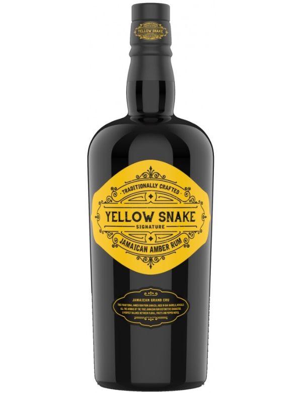 Yellow Snake Jamaican Amber Rum 70cl 40%
