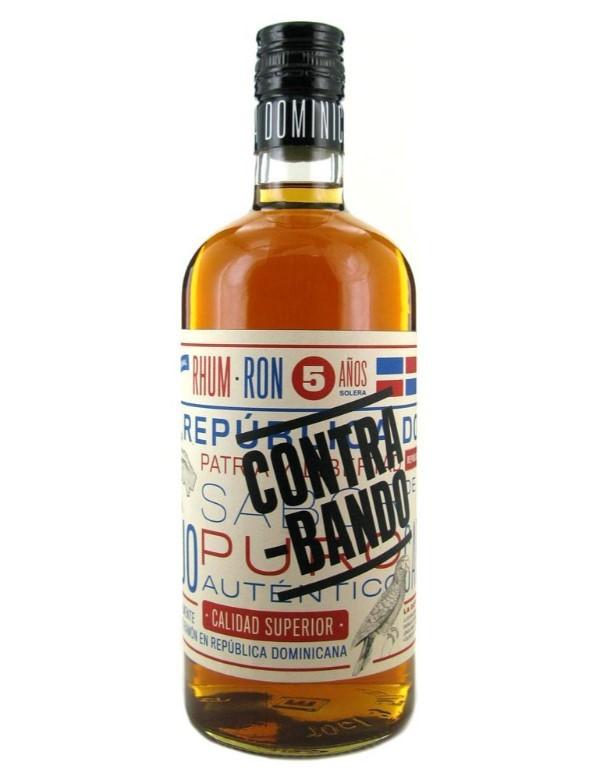 Contra-Bando Domican Dark Rum 5Y 38% 0.7