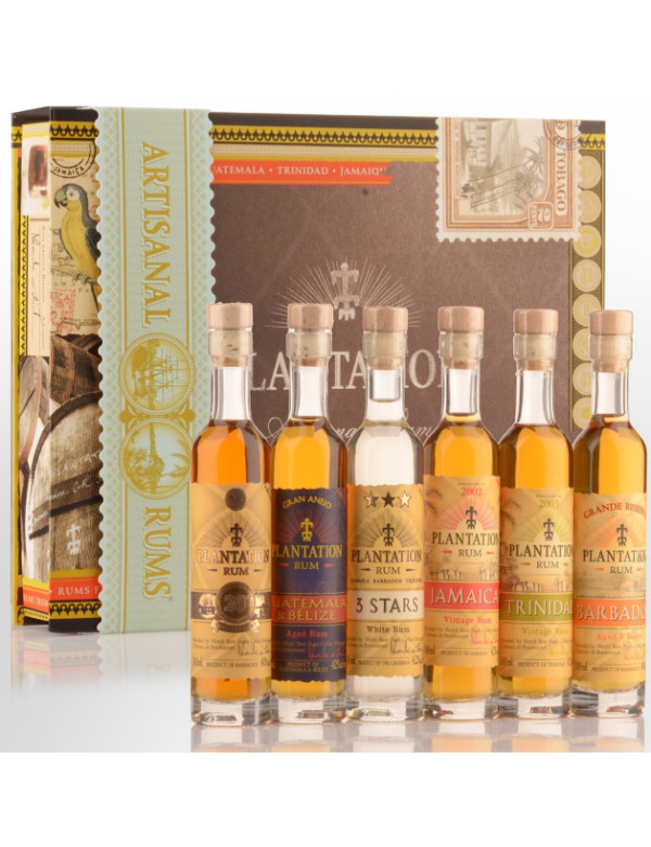 Plantation Rum Gift Pack 6x10cl