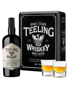 Teeling Small Batch 2 glass Gift Pack 70cl 46%.