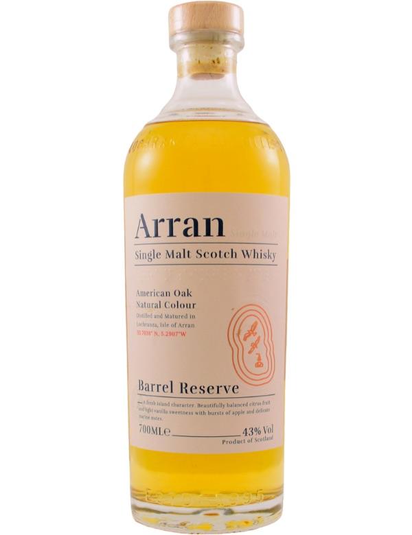 Arran Barrel Reserve 43% 70cl.