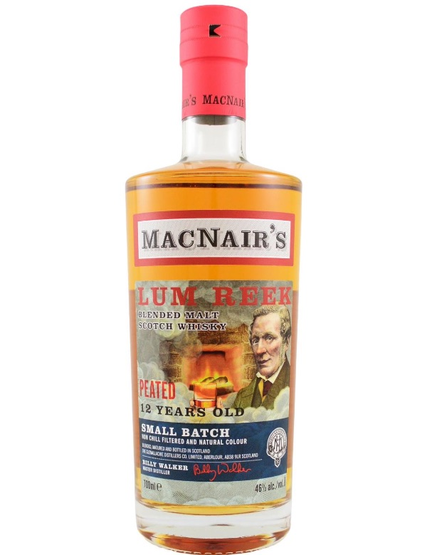 Macnairs Small Batch 12y Peated 46% 70cl.