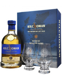 Kilchoman Machir Bay Gift Pack with 2 glasses