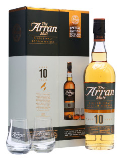 Arran 10y Gift Pack 2 Glasses
