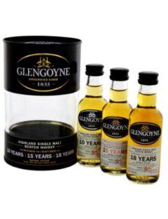 Glengoyne gift tube 3*5cl 10y 15y18y