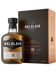 Balblair 18 Years single malt 46% 70cl