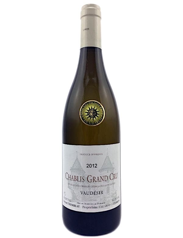 Chablis Vaudesir Domaine Tremblay 2018 Grand cru