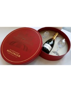 Bollinger Special Cuvee 75cl gift box   2 glasses