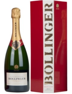 Bollinger Special Cuvee 75cl in Pentagone Box