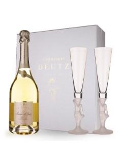 Deutz Amour de Deutz 2007 3/4   giftbox 2 glazen