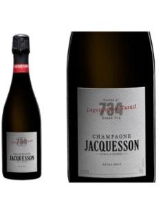 Jacquesson 734 degorgement tardif 75cl