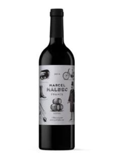 Marcel Malbec rouge 2020 75cl