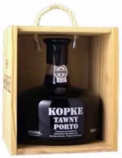 Kopke Tawny  Old Bottle Scott 75 cl in houten kist