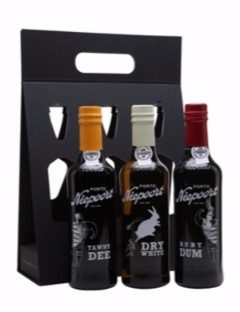Niepoort Port Gift Pack 3 x 20cl Ruby-tawnyWhite.